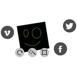 Redimencionar Imagens Social Media Image Maker