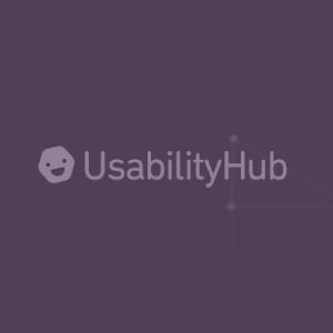 Teste de Design Usability Hub
