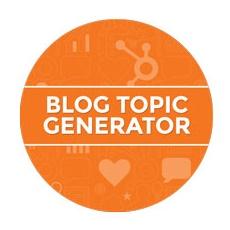 Criar títulos Hubspot Blog Topic Generator