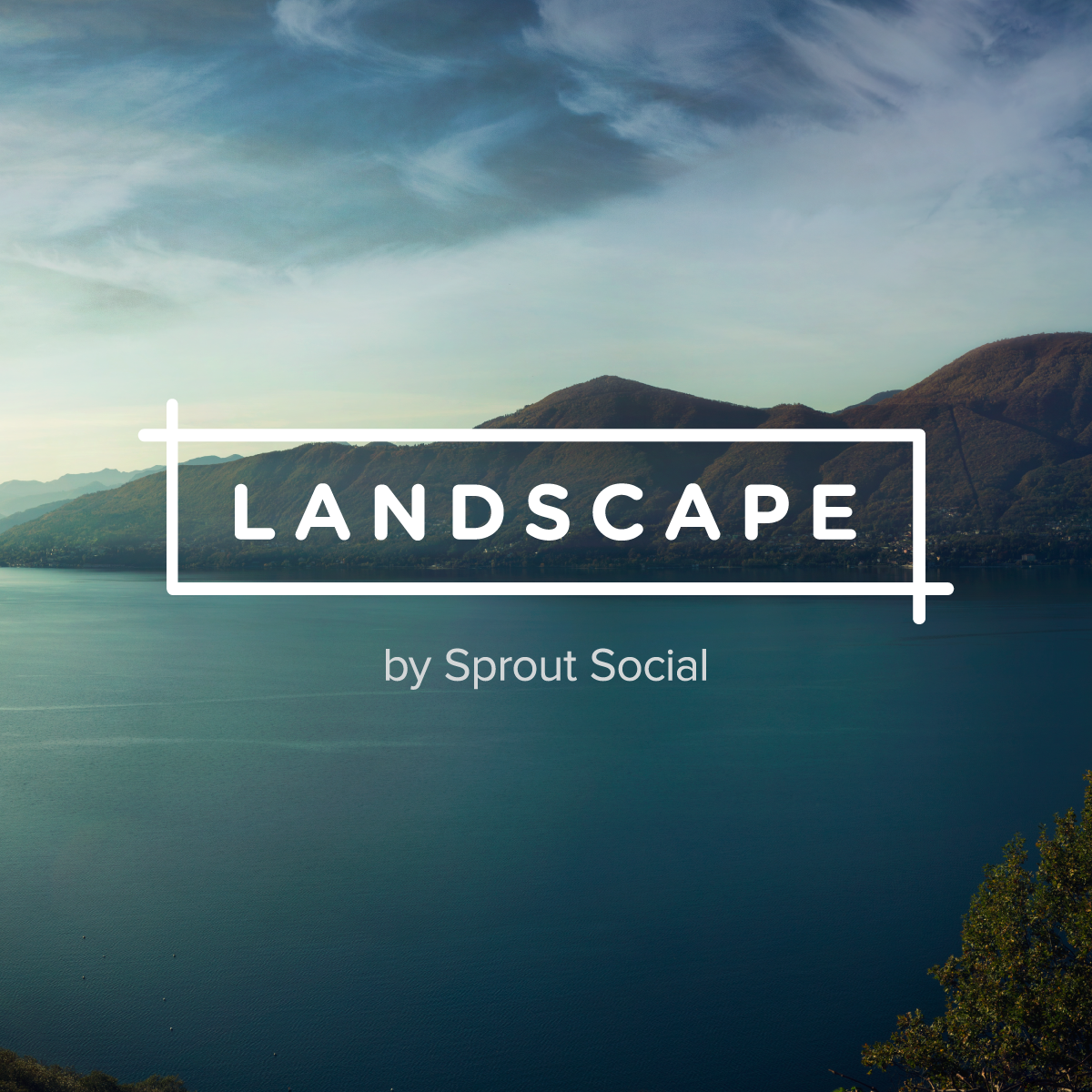 Redimensionar imagens Landscape by Sprout Social