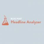 Blog Post Headline Analyzer by CoSchedule