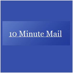 Criar E-mail Temporário 10 Minute Mail