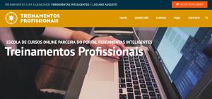 Portal de Treinamentos Profissionais de Ferramentas Digitais