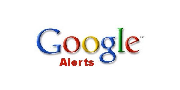 Monitoramento de Palavras-Chave Google Alerts