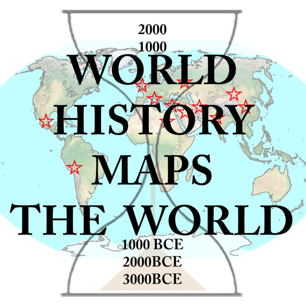 Aplicativo de Mapas Históricos World History Maps