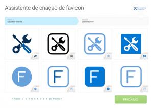 Designs de favicon