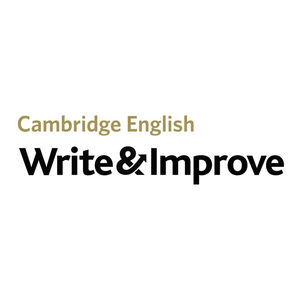 Correção instantânea de redação em inglês Write & Improve