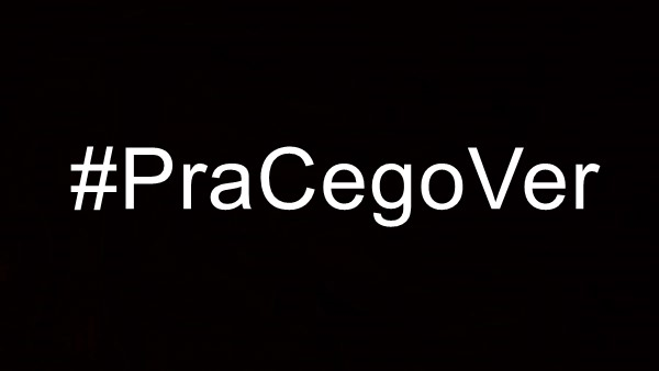 Hashtag pra cego ver no facebook